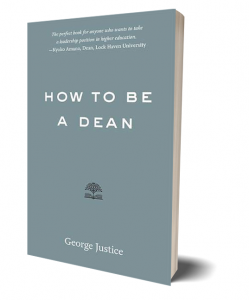 how to be a dean